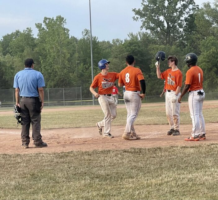 Tuesday's ICBL Wrap: Countryman leads the Orioles; Monarchs use aggressive base-running to take lead late