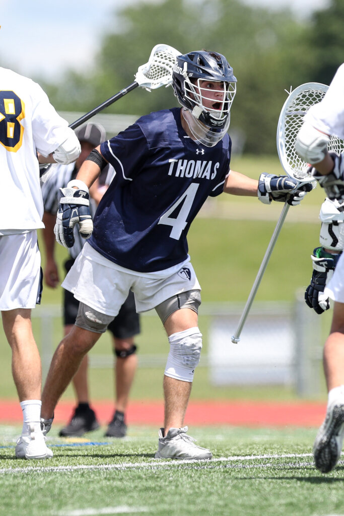 Ruller, Thomas defense, ends Victor's reign in Class B lacrosse