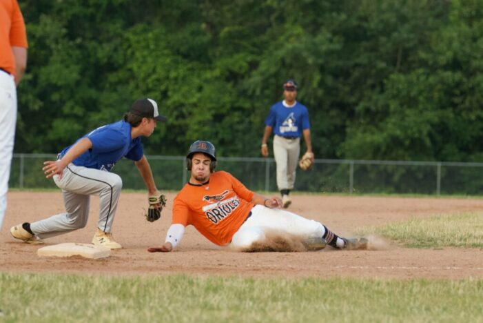 Tuesday's ICBL Wrap: Alongi leads Ducks; Orioles extend first place lead