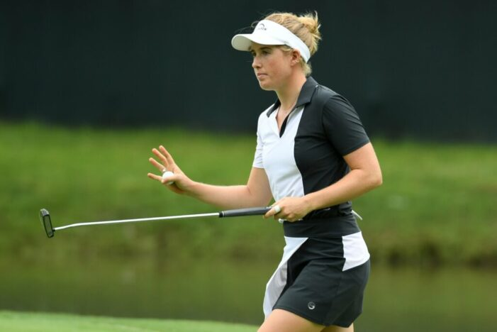 Danielson takes the Symetra Tour lead heading to Danielle Downey Credit Union Classic